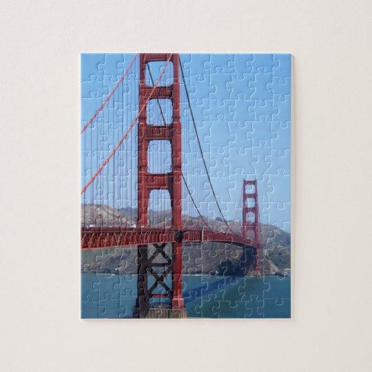 San Francisco Golden Gate Jigsaw Puzzle