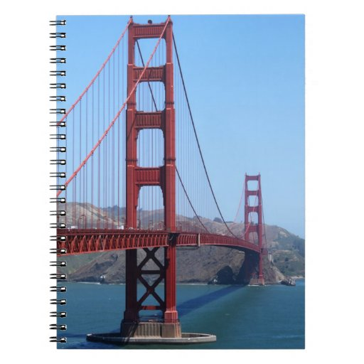 San Francisco Golden Gate Notebook