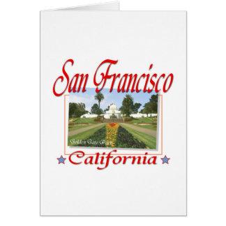 San Francisco Golden Gate Park Card