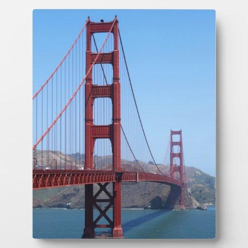 San Francisco Golden Gate Photo Plaque