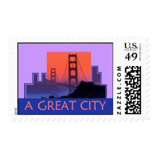 SAN FRANCISCO Golden Gate Postage