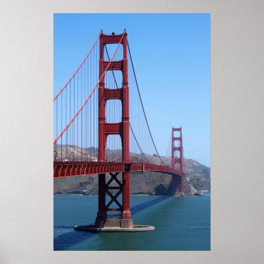 San Francisco Golden Gate Poster