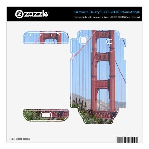 San Francisco Golden Gate Skin For Samsung Galaxy S