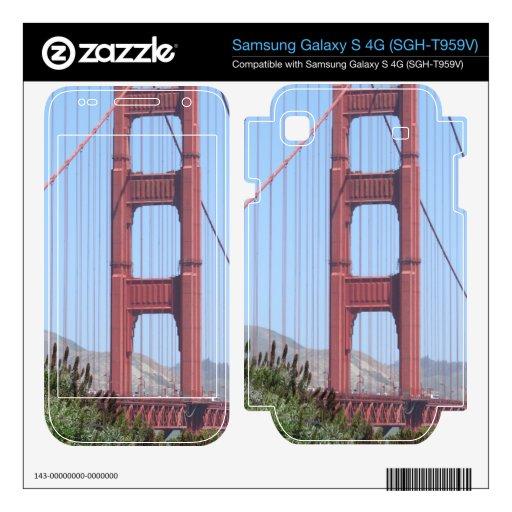 San Francisco Golden Gate Samsung Galaxy S 4G Skin