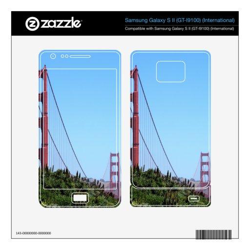 San Francisco Golden Gate Samsung Galaxy S II Skin