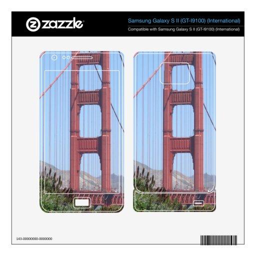 San Francisco Golden Gate Samsung Galaxy S II Decal