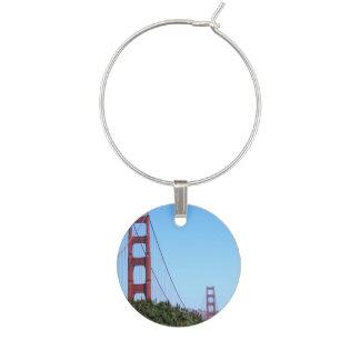 San Francisco Golden Gate Wine Charm