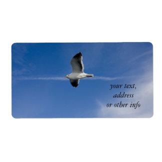San Francisco Gull Shipping Label