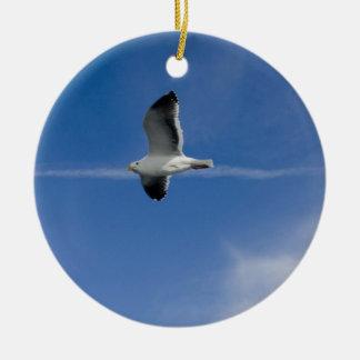 San Francisco Gull Christmas Tree Ornament