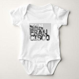 San Francisco Haight Ashbury Baby Bodysuit