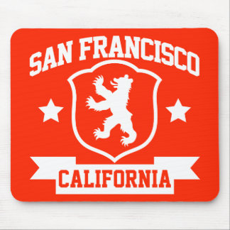 San Francisco Heraldry Mouse Pad