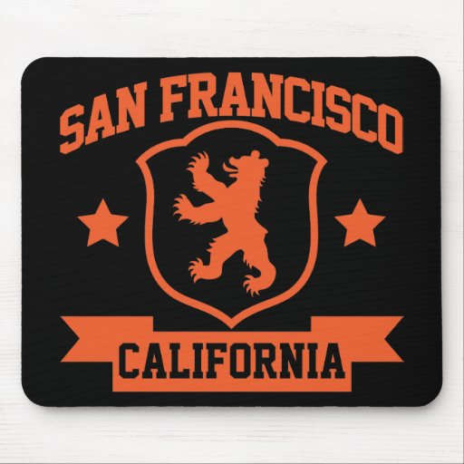 San Francisco Heraldry Mouse Pad