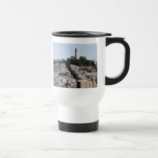san francisco hill travel mug
