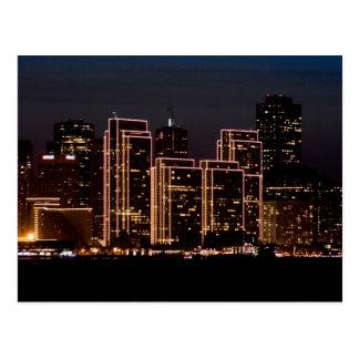 San Francisco Holiday Lights Post Cards