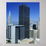 San Francisco, horizonte del distrito financiero Póster