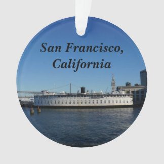 San Francisco Hornblower Cruise Ornament