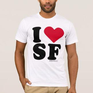 "SAN FRANCISCO - ""I LOVE SF"" ""I LOVE SAN FRANCISCO"" T-Shirt"
