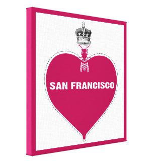 San Francisco Impresion De Lienzo