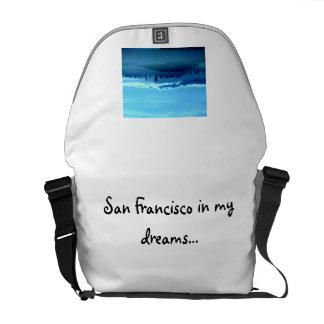 San Francisco In My Dreams Tote Bag Messenger Bags