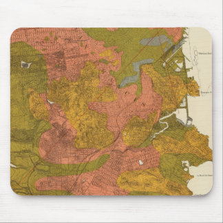San Francisco intensity of earthquake Mouse Pads