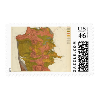 San Francisco intensity of earthquake Postage Stamp