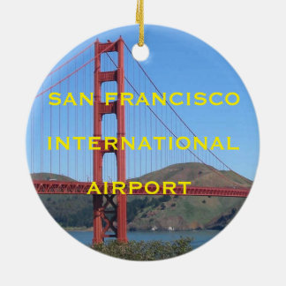 San Francisco International Airport Ornament