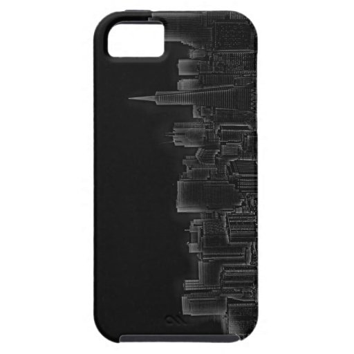 San Francisco Inverted Skyline iPhone 5 Cases