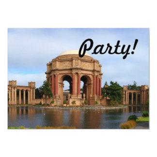 San Francisco 5x7 Paper Invitation Card