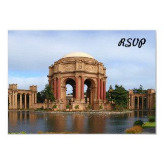 San Francisco 3.5x5 Paper Invitation Card
