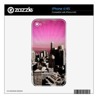 San Francisco iPhone 4/4S Skin Decals For iPhone 4S
