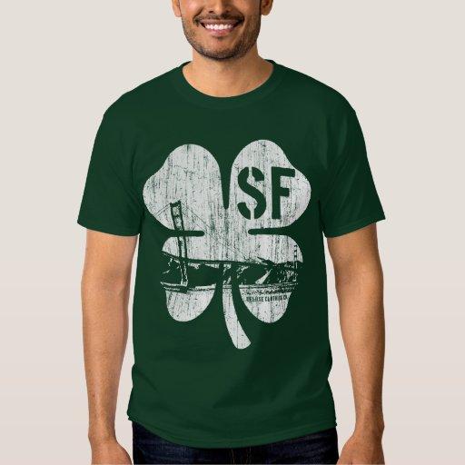 San Francisco Irish (vintage white) Tee Shirt