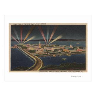 San Francisco, isla de CATreasure en la expo Postal