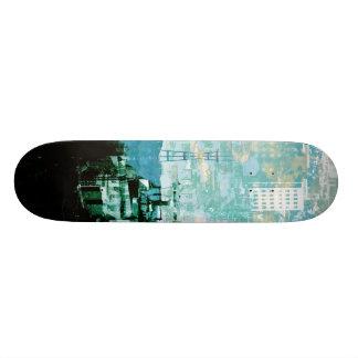 San Francisco Island_cyan Skateboard