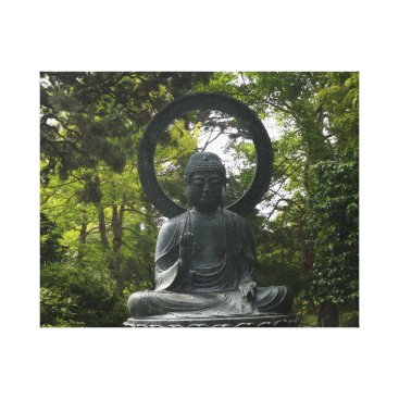 everydaylifesf San Francisco Japanese Tea Garden Buddha Canvas