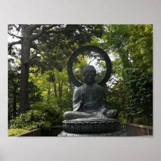 San Francisco Japanese Tea Garden Buddha Poster