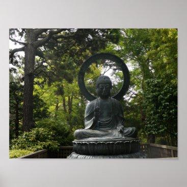Beach Themed San Francisco Japanese Tea Garden Buddha Poster