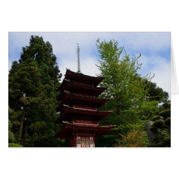 everydaylifesf San Francisco Japanese Tea Garden Greeting Card