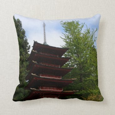 everydaylifesf San Francisco Japanese Tea Garden Pagoda Pillow