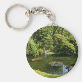 San Francisco Japanese Tea Garden Pond #3 Keychain