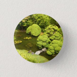 San Francisco Japanese Tea Garden Pond #6 Button