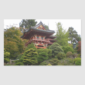 San Francisco Japanese Tea Garden Stickers