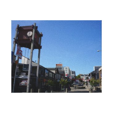 everydaylifesf San Francisco Japantown Osaka Way Canvas