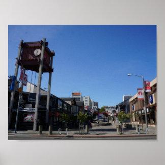 San Francisco Japantown Osaka Way Poster