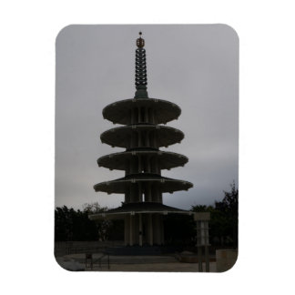 San Francisco Japantown Peace Pagoda #2 Magnet