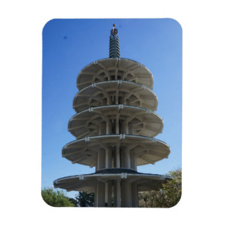 San Francisco Japantown Peace Pagoda Photo Magnet