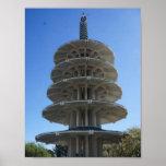 San Francisco Japantown Peace Pagoda Poster