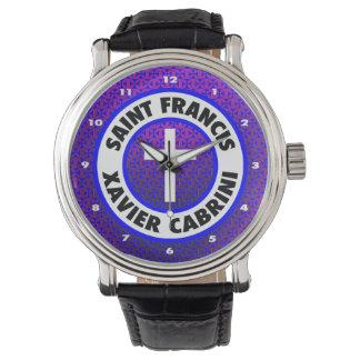 San Francisco Javier Cabrini Relojes De Pulsera