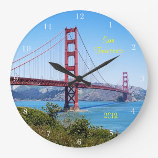 San Francisco Keepsake Large Clock