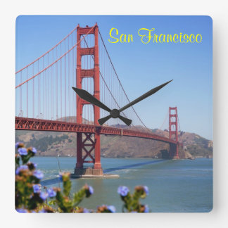 San Francisco Keepsake Square Wall Clock