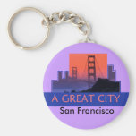 SAN FRANCISCO Keychain